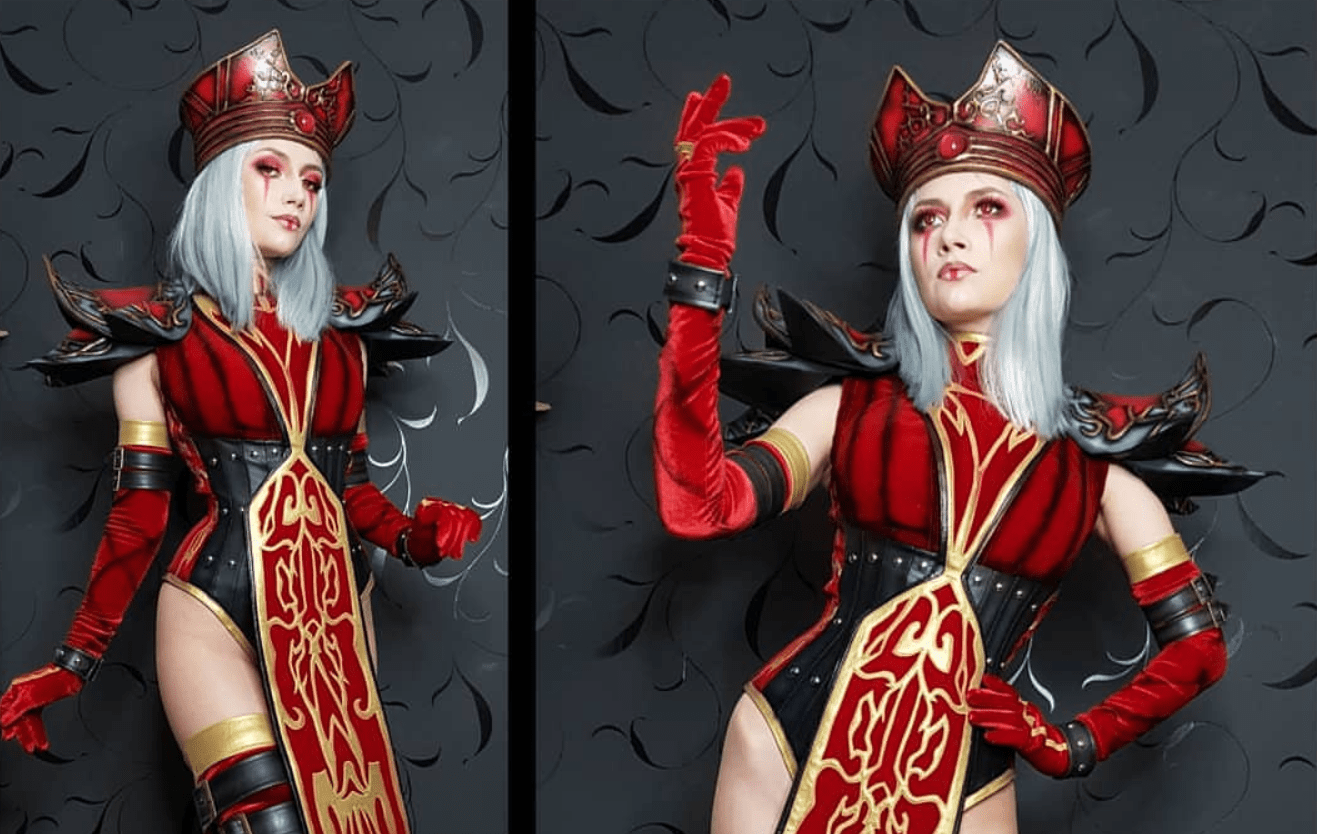 World of Warcraft: Sally Whitemane cosplay by Narga Lifestream