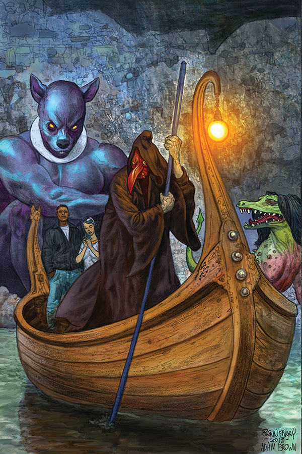 EXCLUSIVE Dark Horse Preview: American Gods: The Moment of the Storm #4