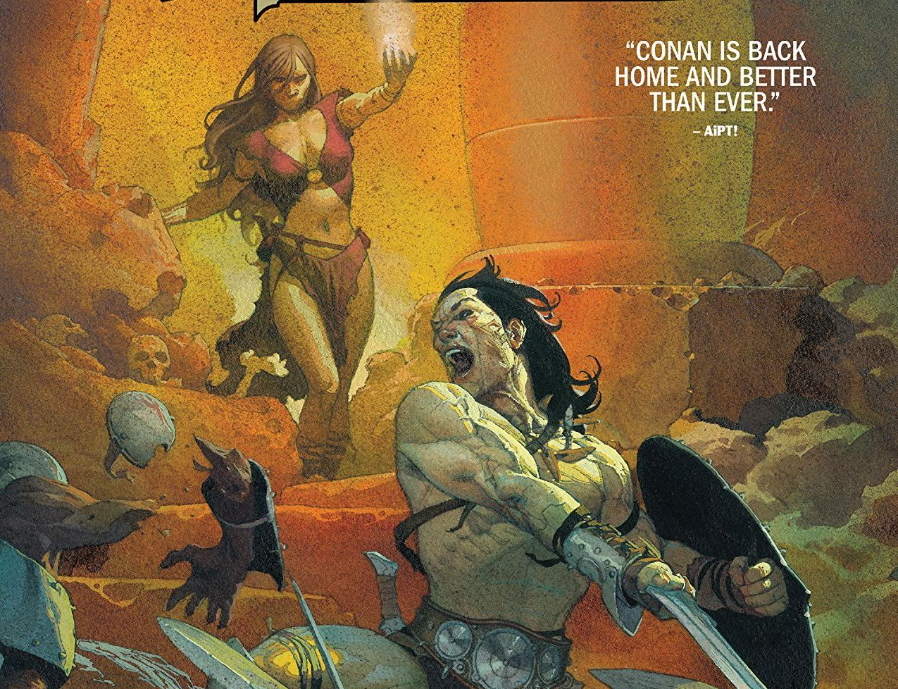 'Conan the Barbarian Vol. 1: The Life and Death of Conan Book One' review