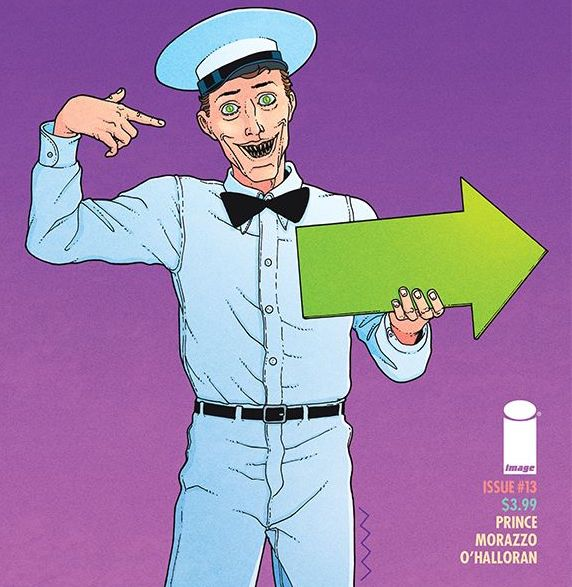 Ice Cream Man #13 review: backwards and forwards