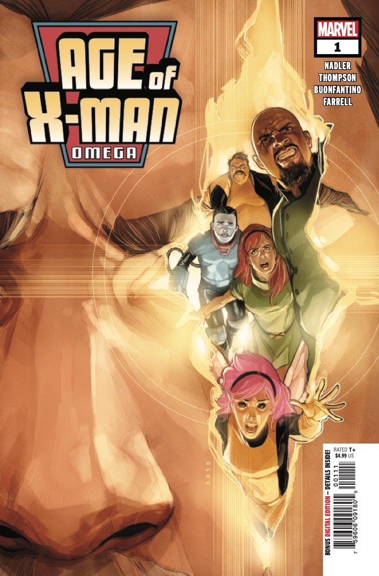 THE AGE OF X-MAN CONCLUDES!