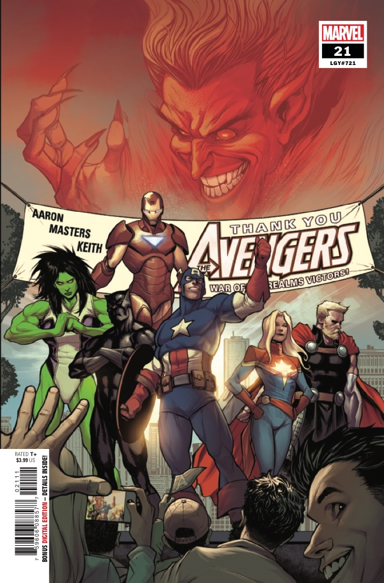 Marvel Preview: Avengers #21