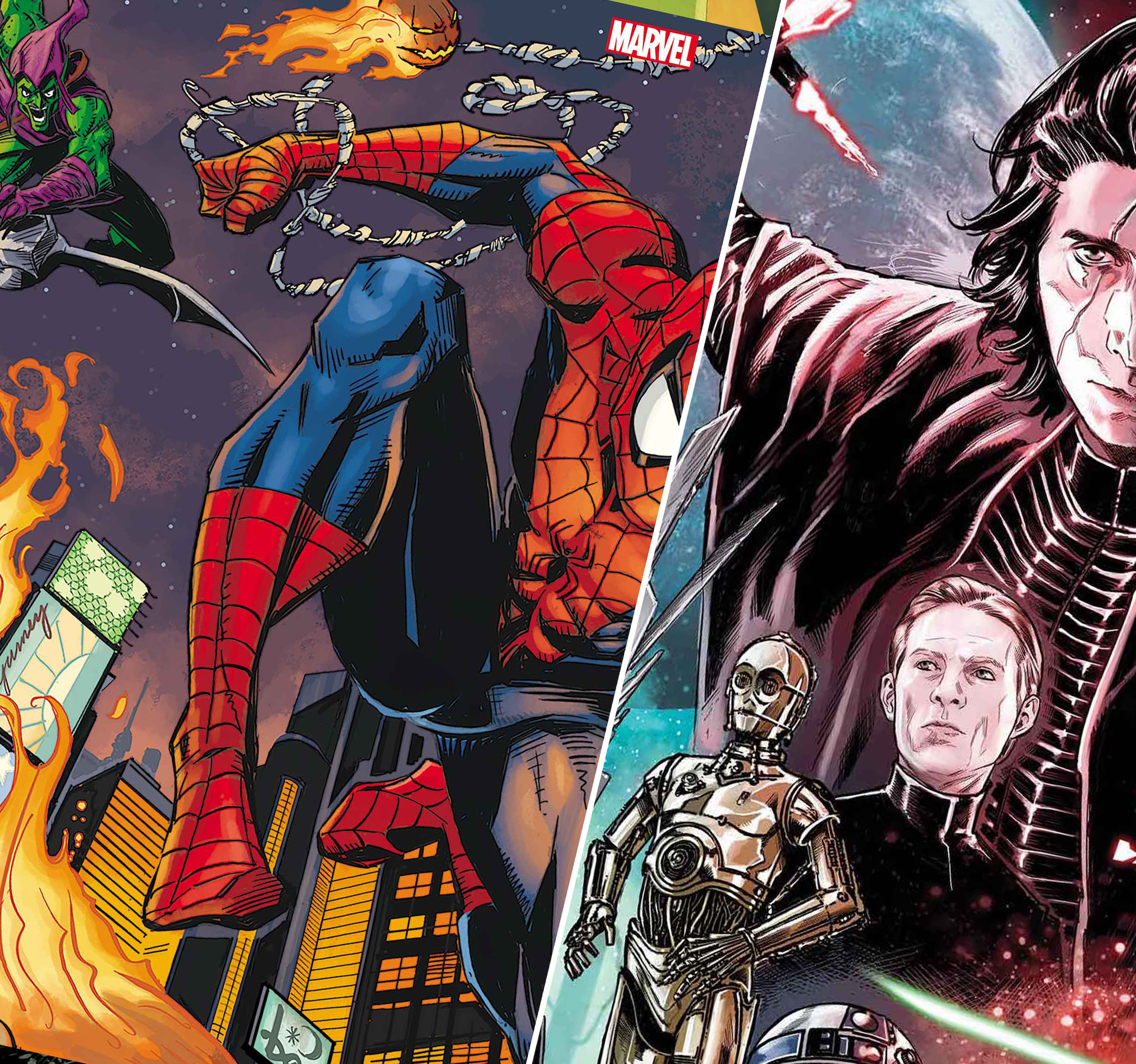 Rise of Skywalker, Doctor Doom, Spidey faces Red Goblin, and more!