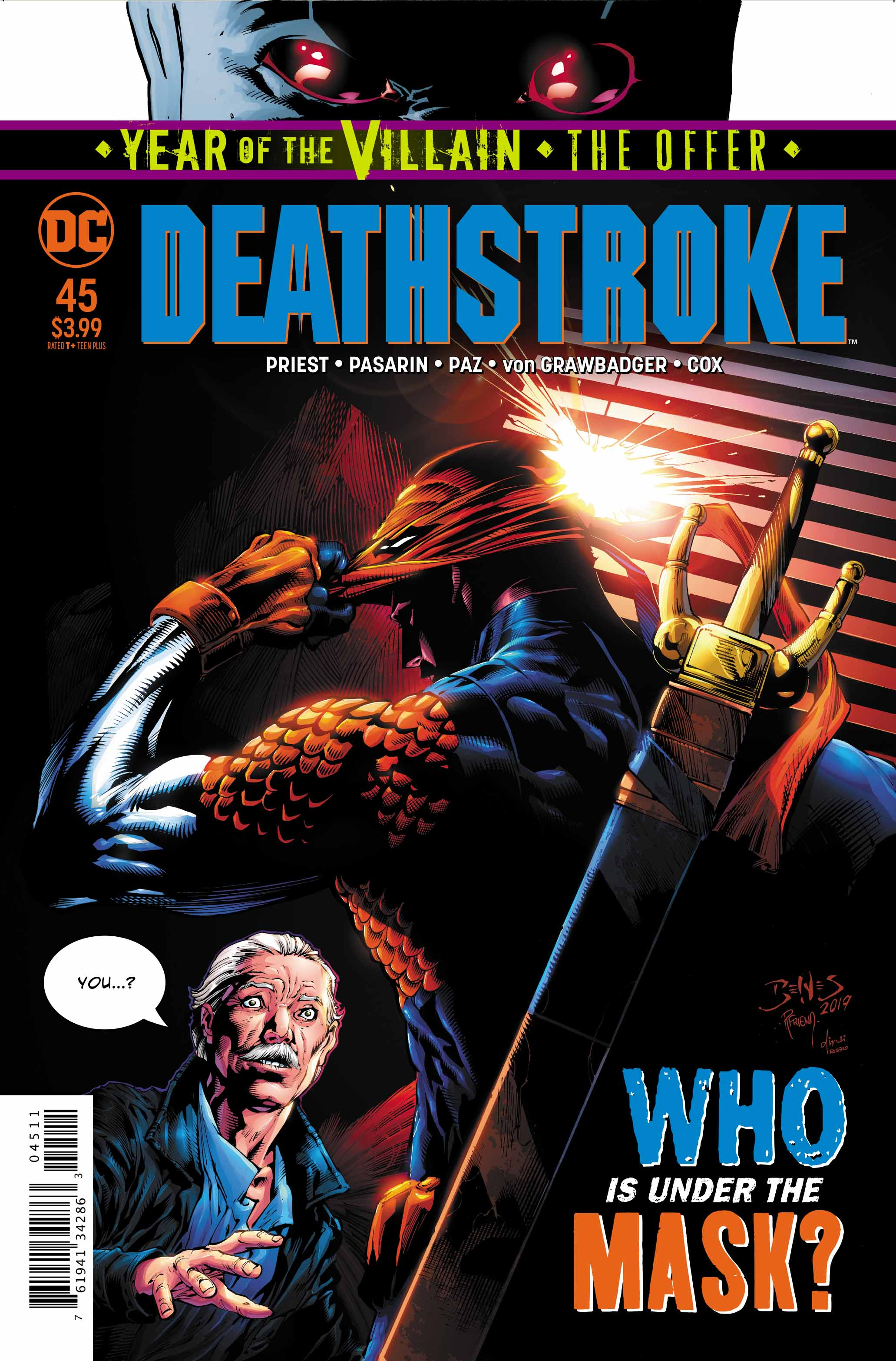 Deathstroke #45 Review