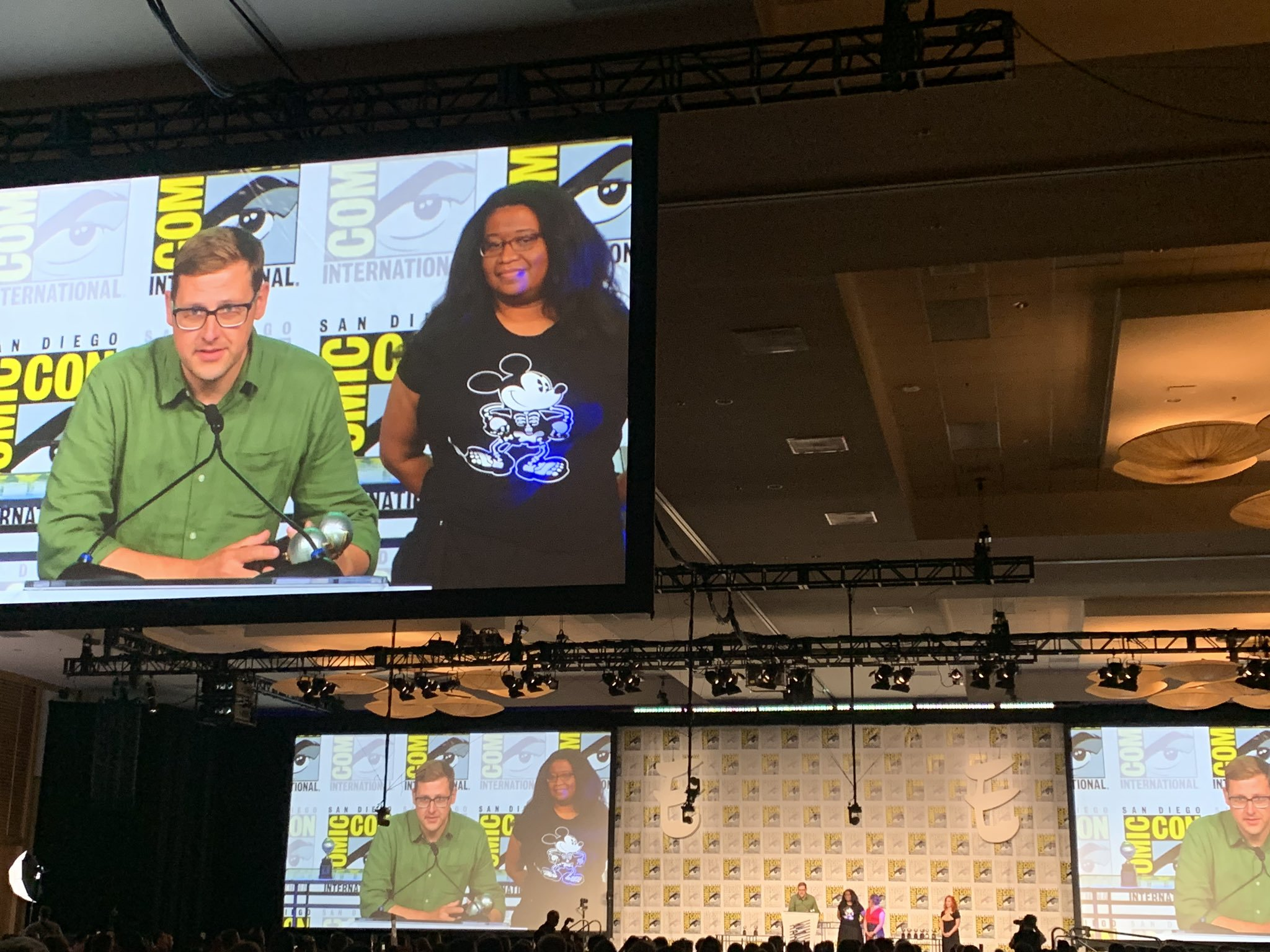 The spooky fan favorite is on top at tonight's Eisner awards ceremony