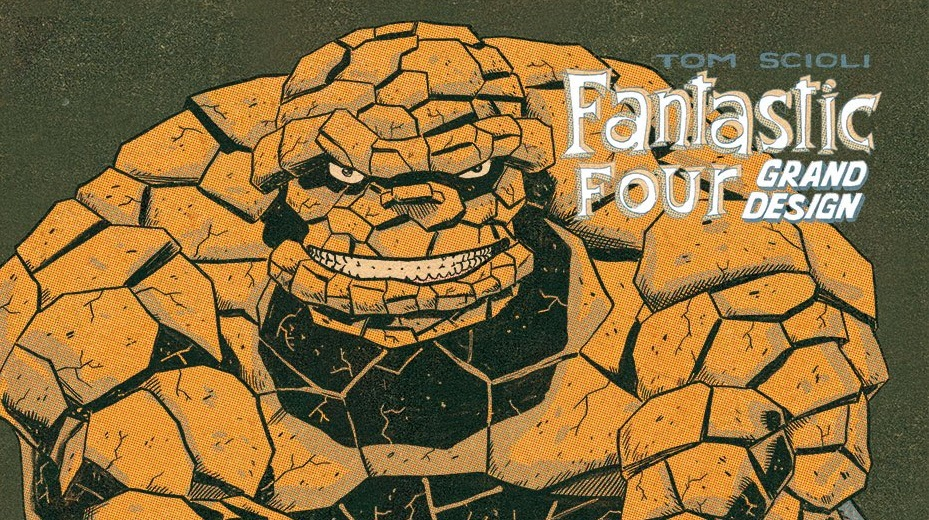 Marvel Comics announces 'Fantastic Four: Grand Design' out this October