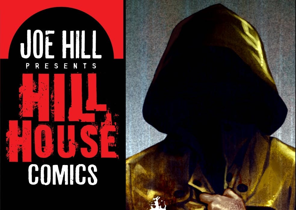 An exclusive interview with Joe Hill at San Diego Comic-Con 2019.