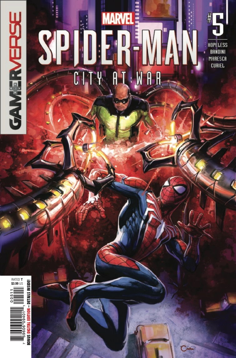Marvel Preview: Spider-Man: City at War #5