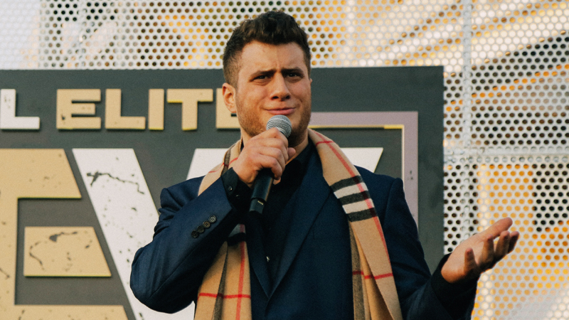 MJF suffers elbow injury at AEW Fight for the Fallen