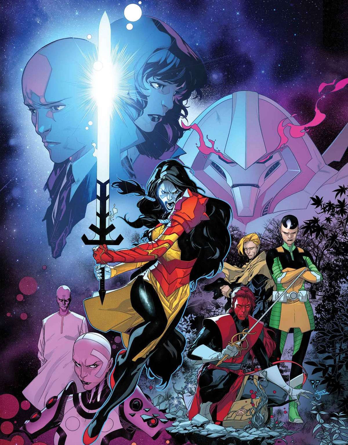 Powers of X #1: Millennium