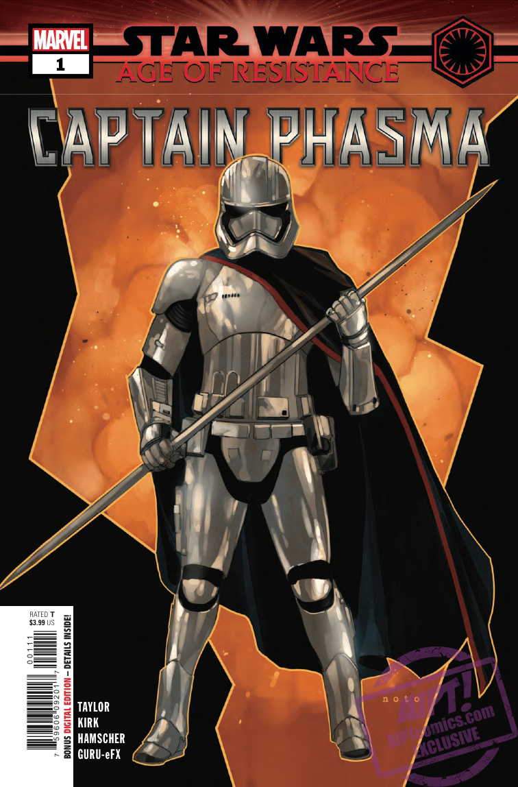 EXCLUSIVE Marvel Preview: Star Wars: Age of Resistance - Captain Phasma #1