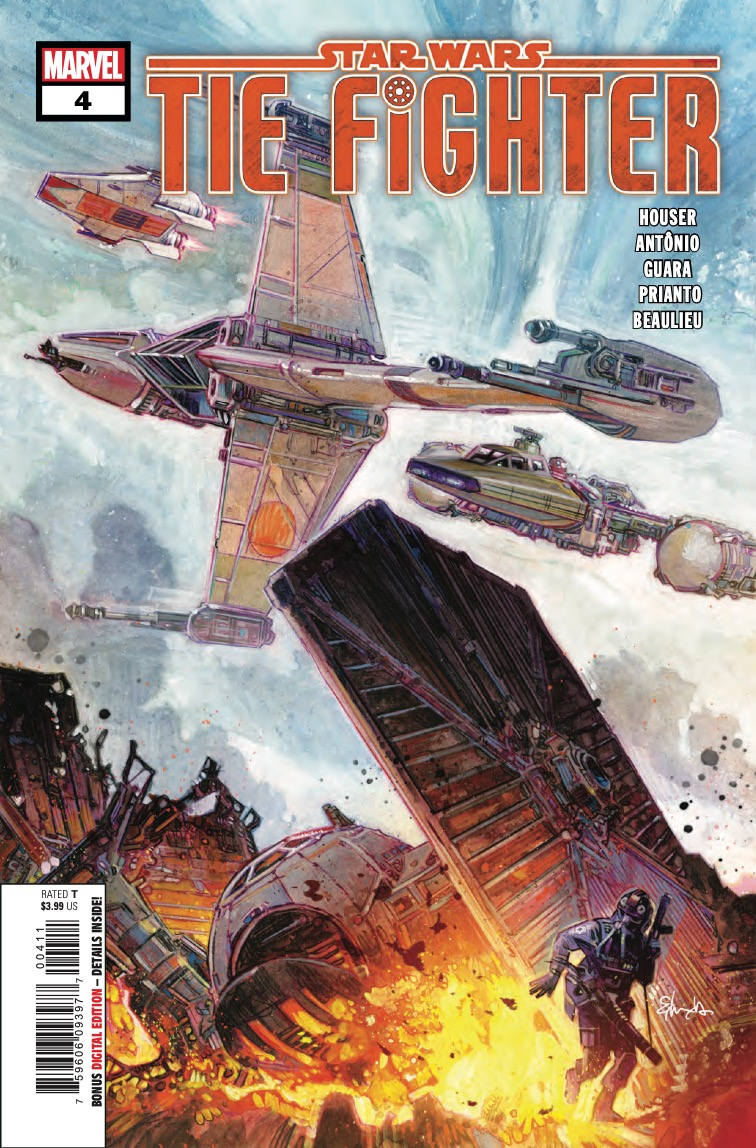 Marvel Preview: Star Wars: TIE Fighter #4