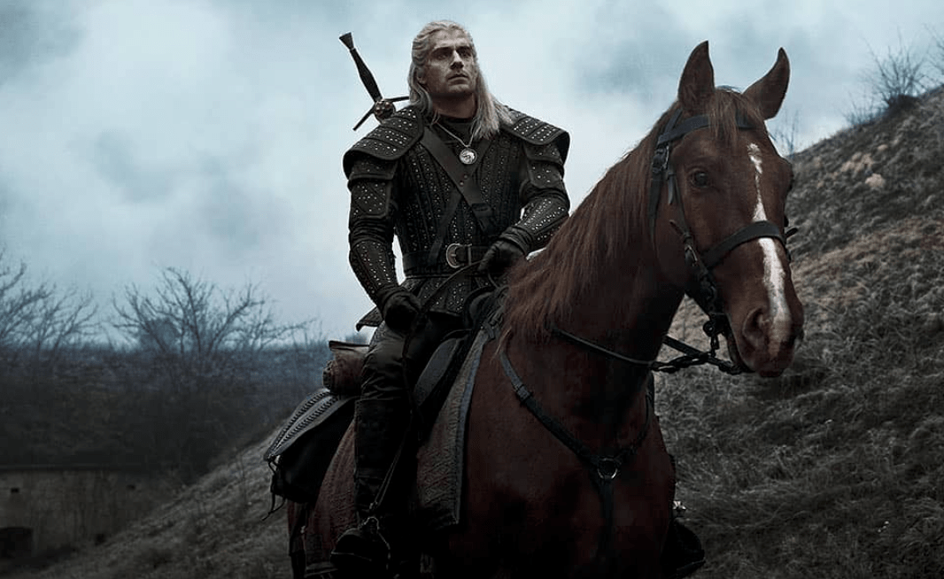 First look at Geralt's trusty steed.