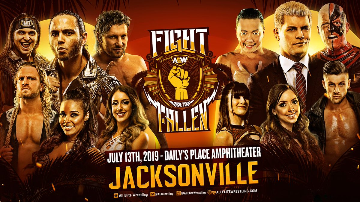 AEW Fight for the Fallen results