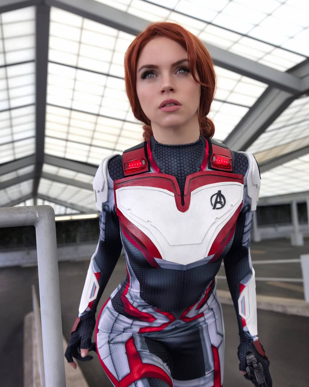 Jump into the Quantum Realm with this Quantum Suit Black Widow cosplay from ArmoredHeart.