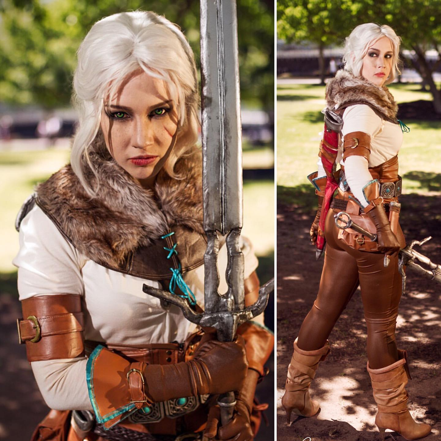 The Witcher: Ciri cosplay by Soylent