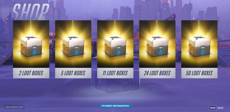 'In-Game Purchases (Includes Random Items).'