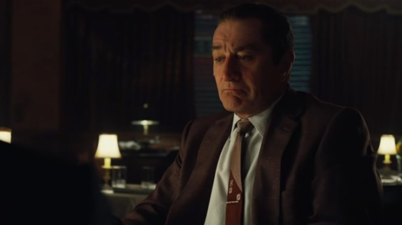 The teaser trailer for Martin Scorsese's new crime drama The Irishman has been released.