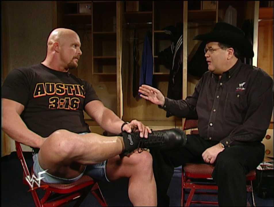 "Jim Ross on chair shots to the head: ""We're done with that business"""
