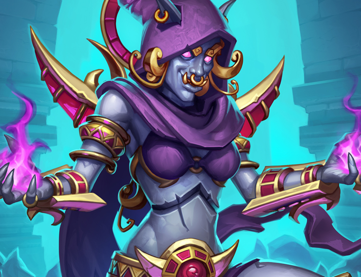 Hearthstone: Saviors of Uldum: New Epic minion, Mogu Cultist revealed