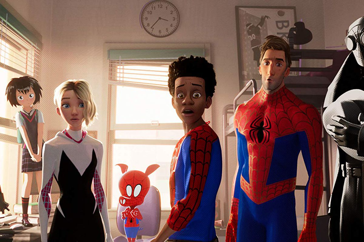 Watch Spider-man: Into the Spider-verse at Fenway Park.