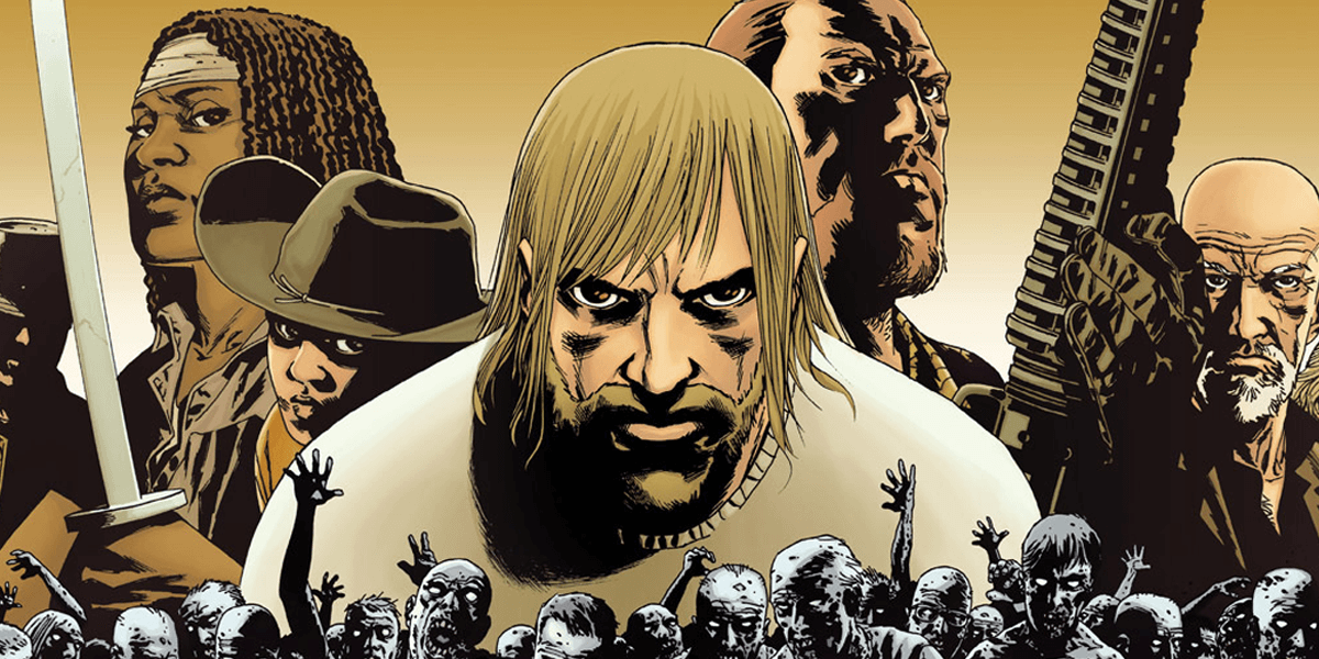 The Walking Dead officially ending this week in final issue #193