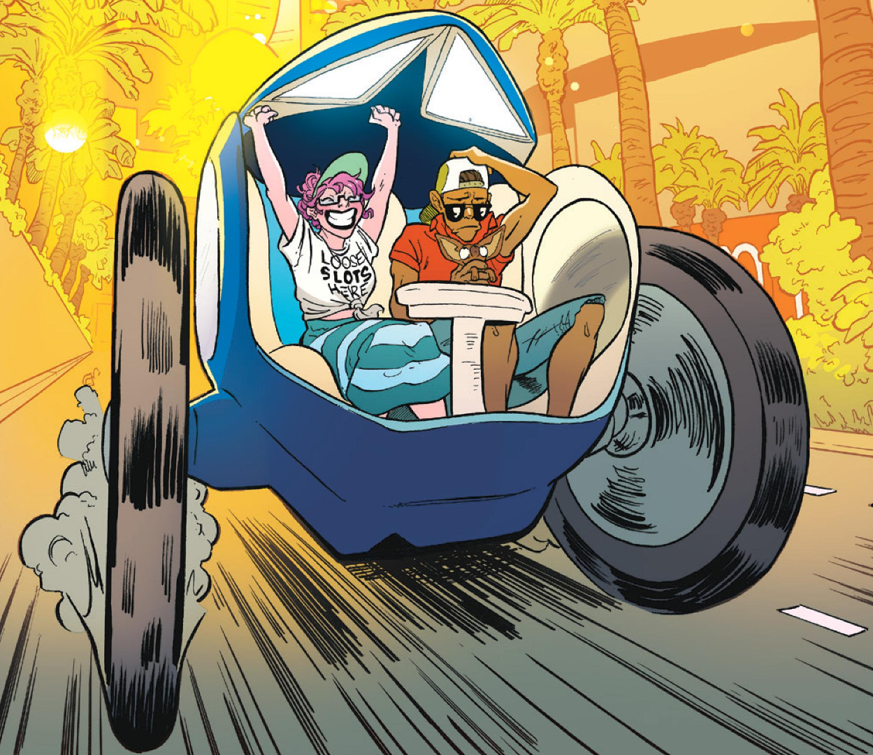 Crowded #8 review: What happens in Vegas…well, you know the rest