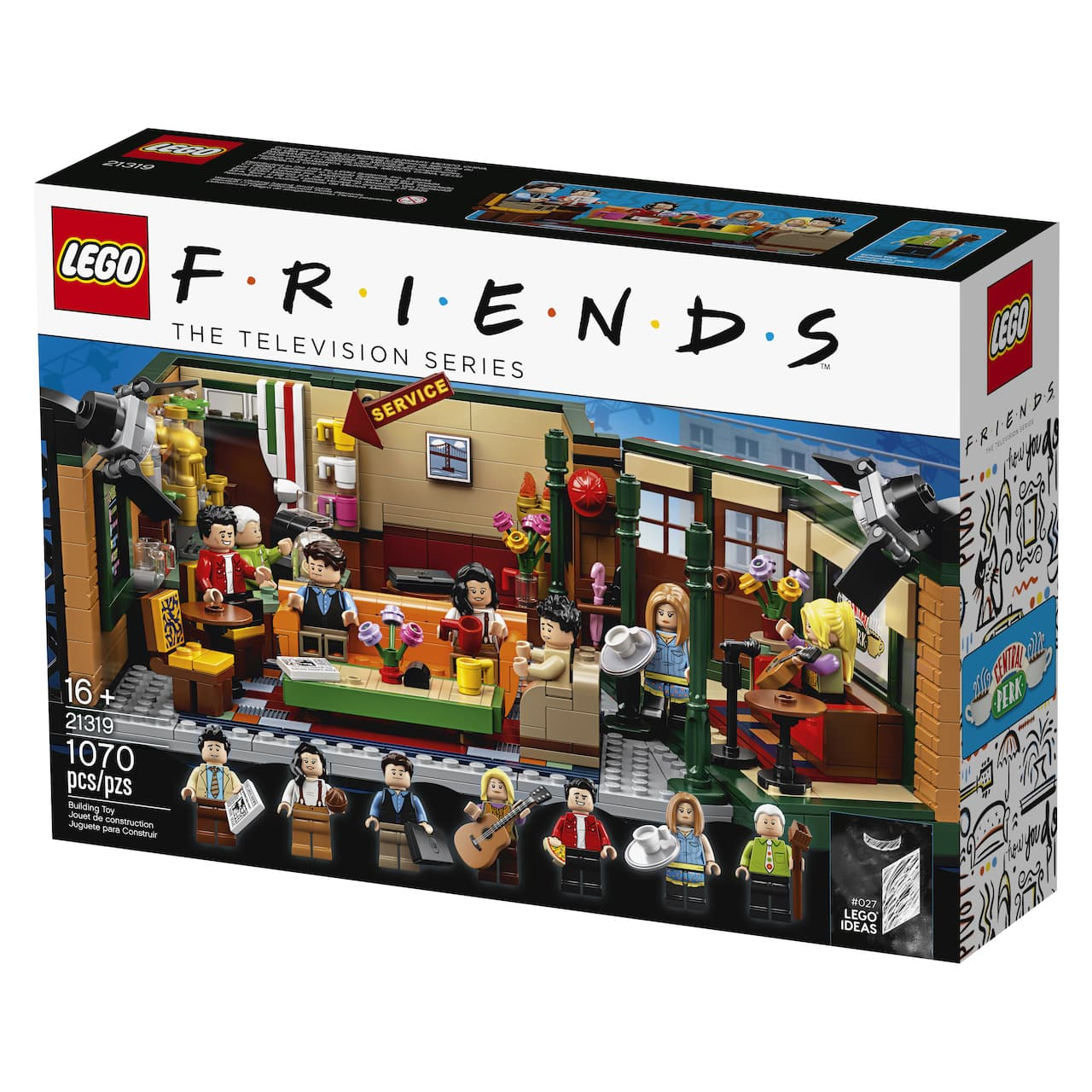 Iconic 90s TV show Friends is getting a LEGO set this September.