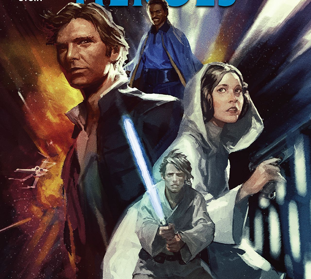 It's an excellent collection of stories with our favorite Star Wars heroes.