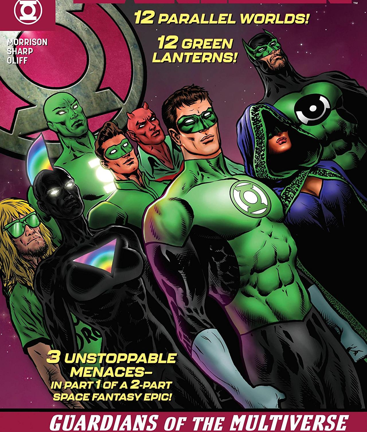 The Green Lantern #10 Annotations: Multiversity Mission