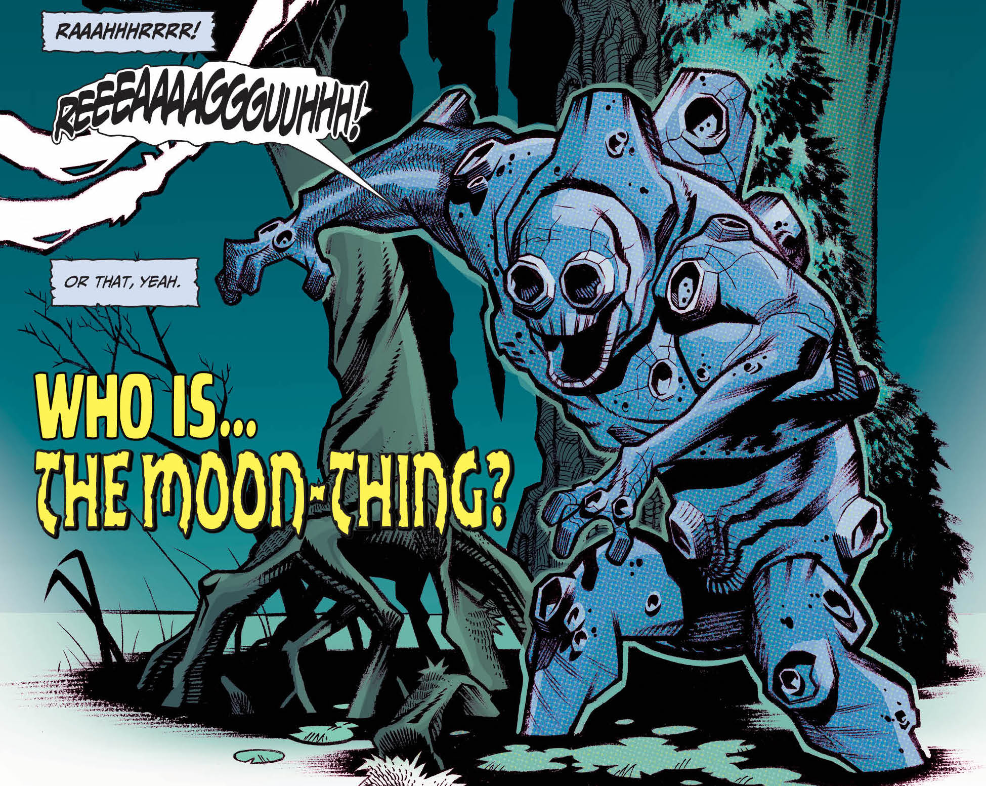 First Look: Moon-Thing backup story from AHOY Comics' Bronze Age Boogie #5