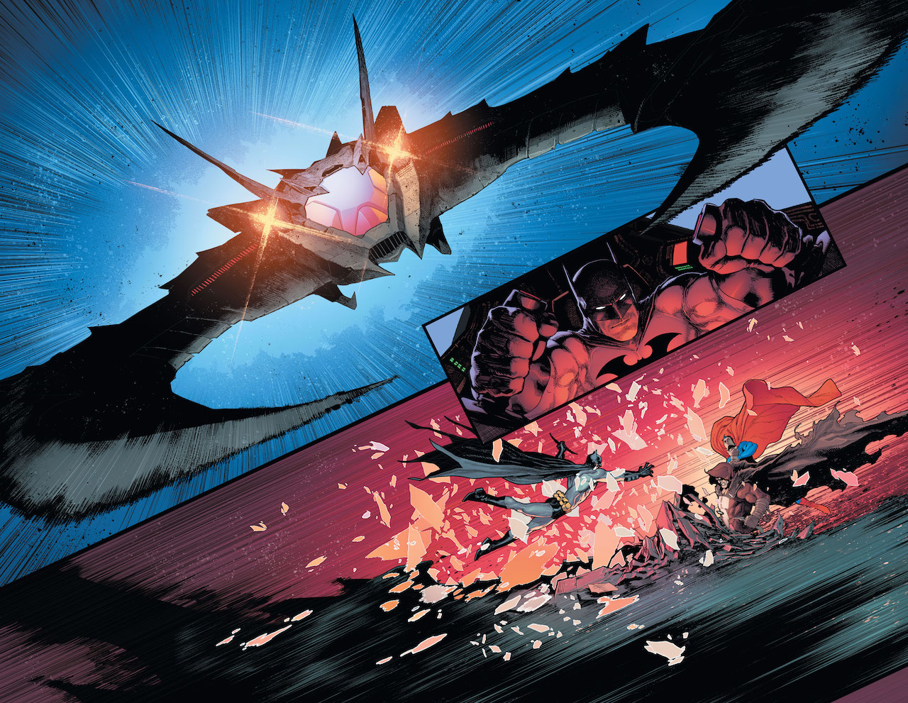 First Look: New Batman/Superman #1 preview pages emerge prior to August 28th release date