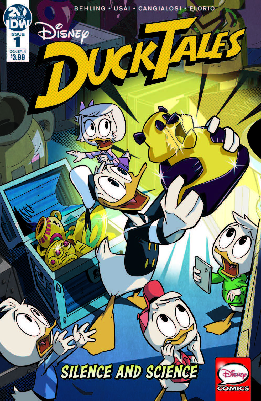 Ducktales: Silence And Science #1 Review