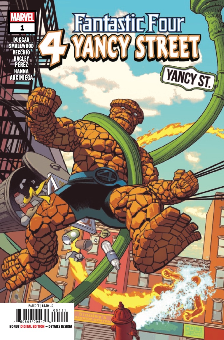 Marvel Preview: Fantastic Four: 4 Yancy Street #1