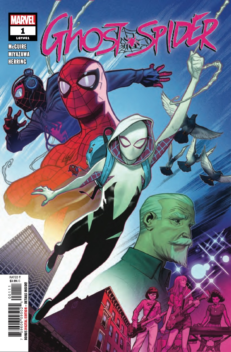 GWEN STACY MAKES HER WAY TO THE MARVEL UNIVERSE!