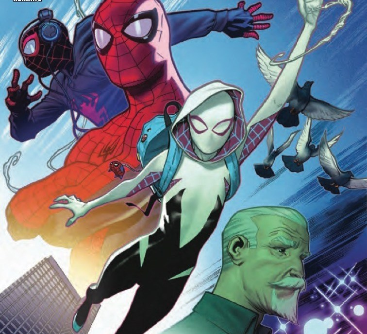 'Ghost-Spider' #1 review: Easy for anyone to swing into