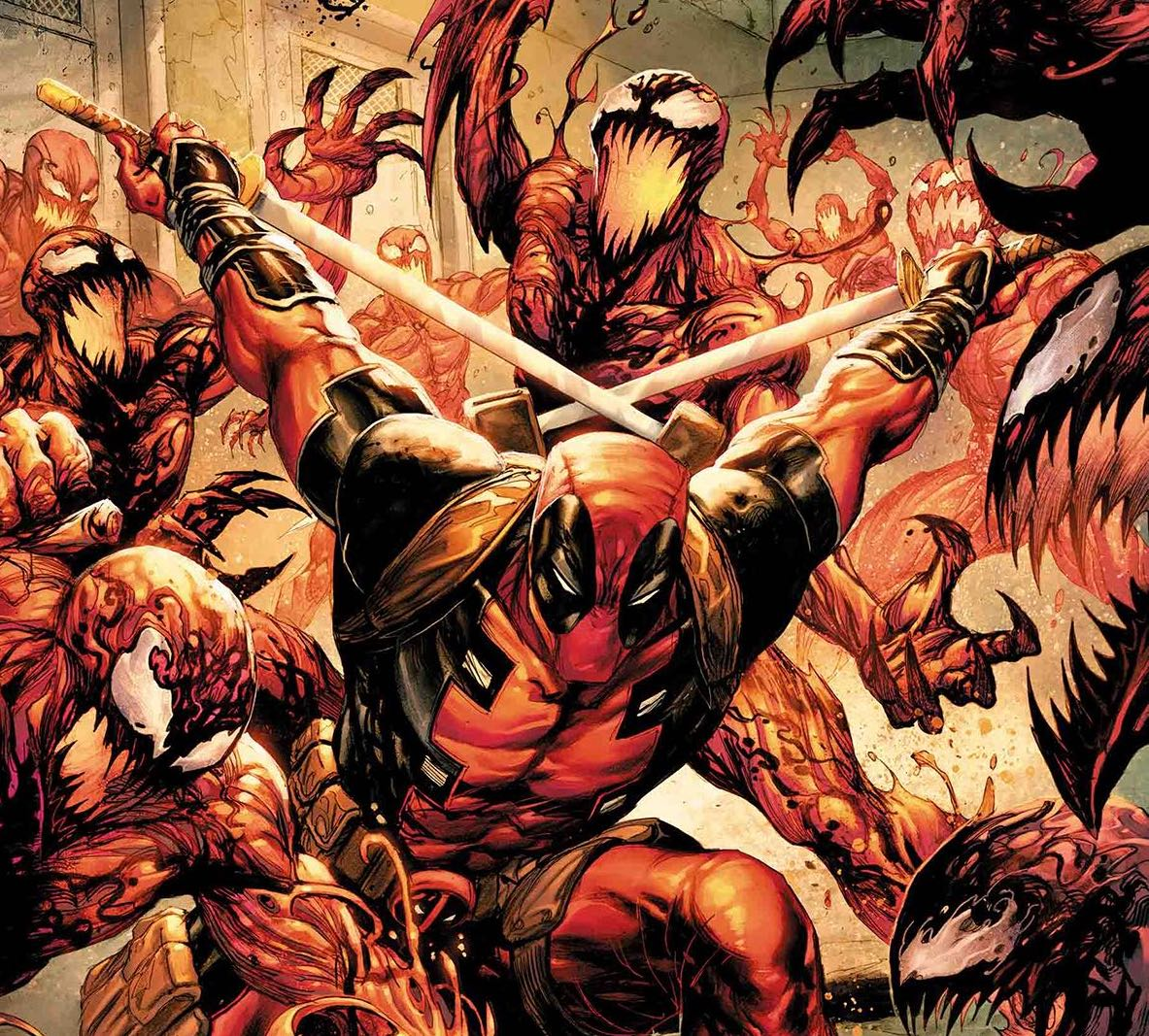 'Absolute Carnage vs. Deadpool' #1 review: A great dark comedy