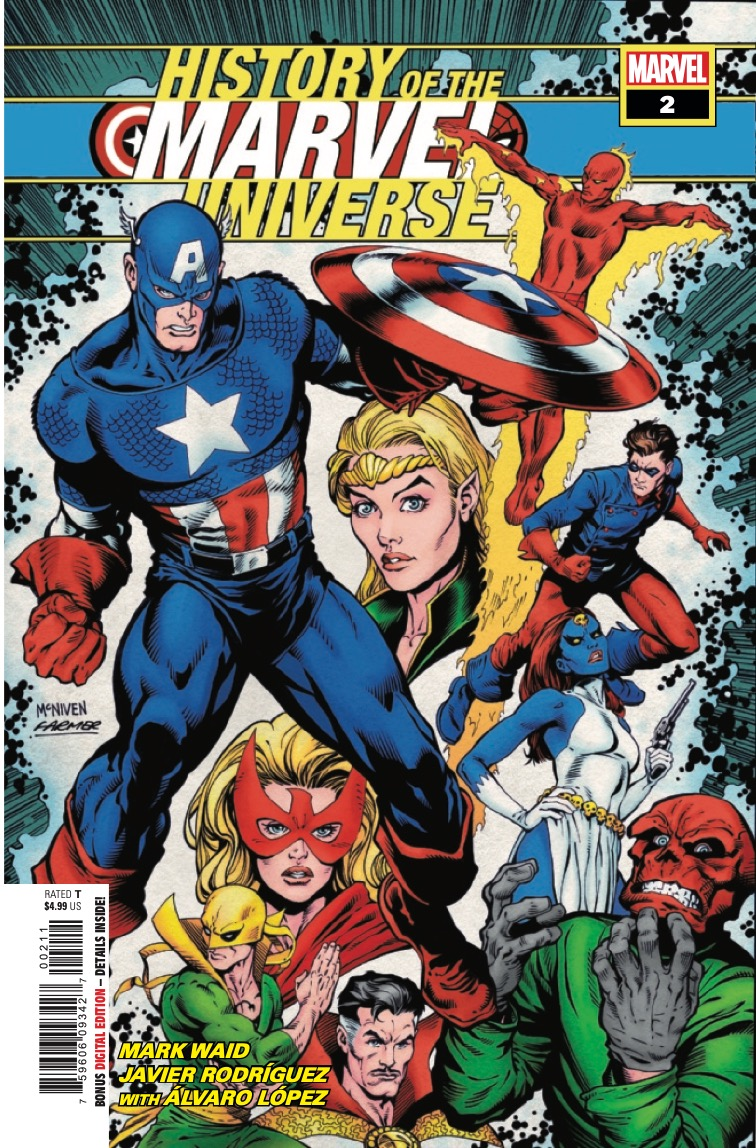Marvel Preview: History of the Marvel Universe #2