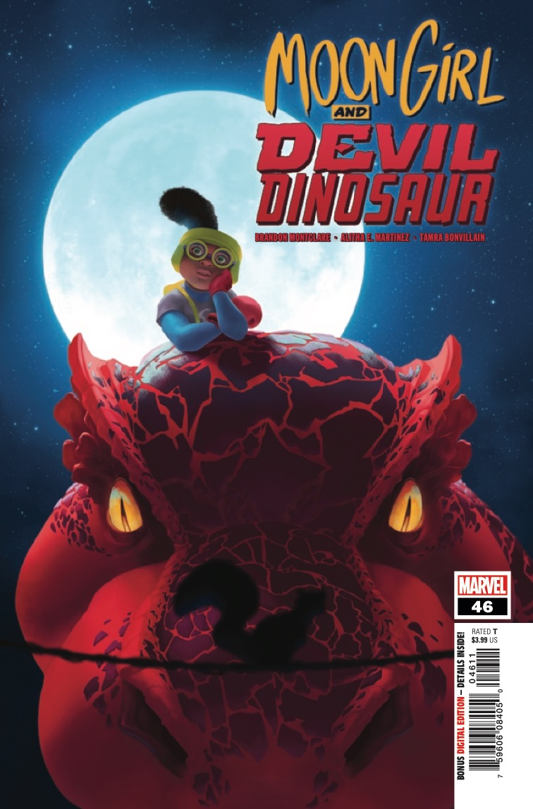 Marvel Preview: Moon Girl and Devil Dinosaur (2015-) #46