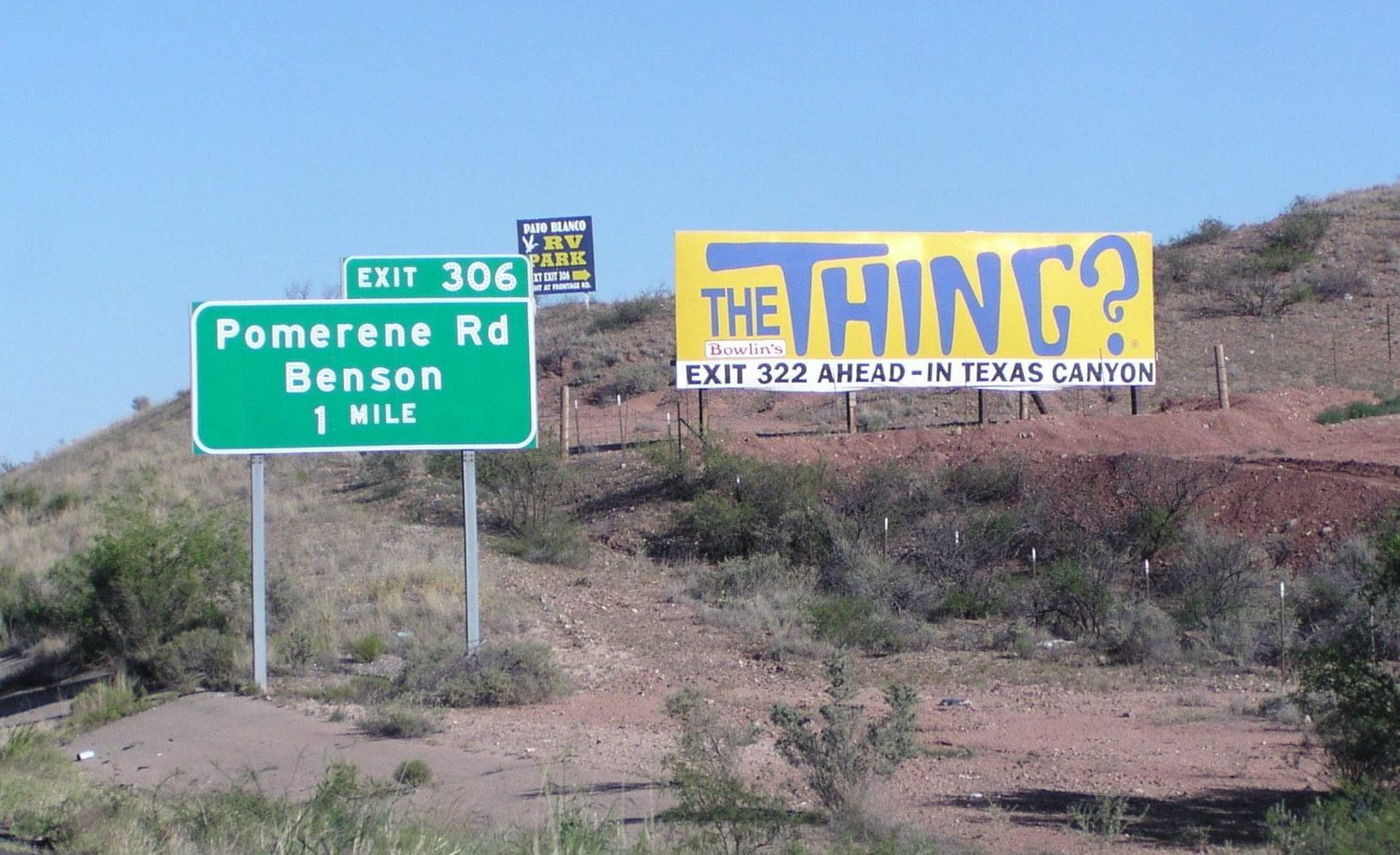 Travel to Arizona's 'Mystery of the Desert,' to see 'The Thing?'