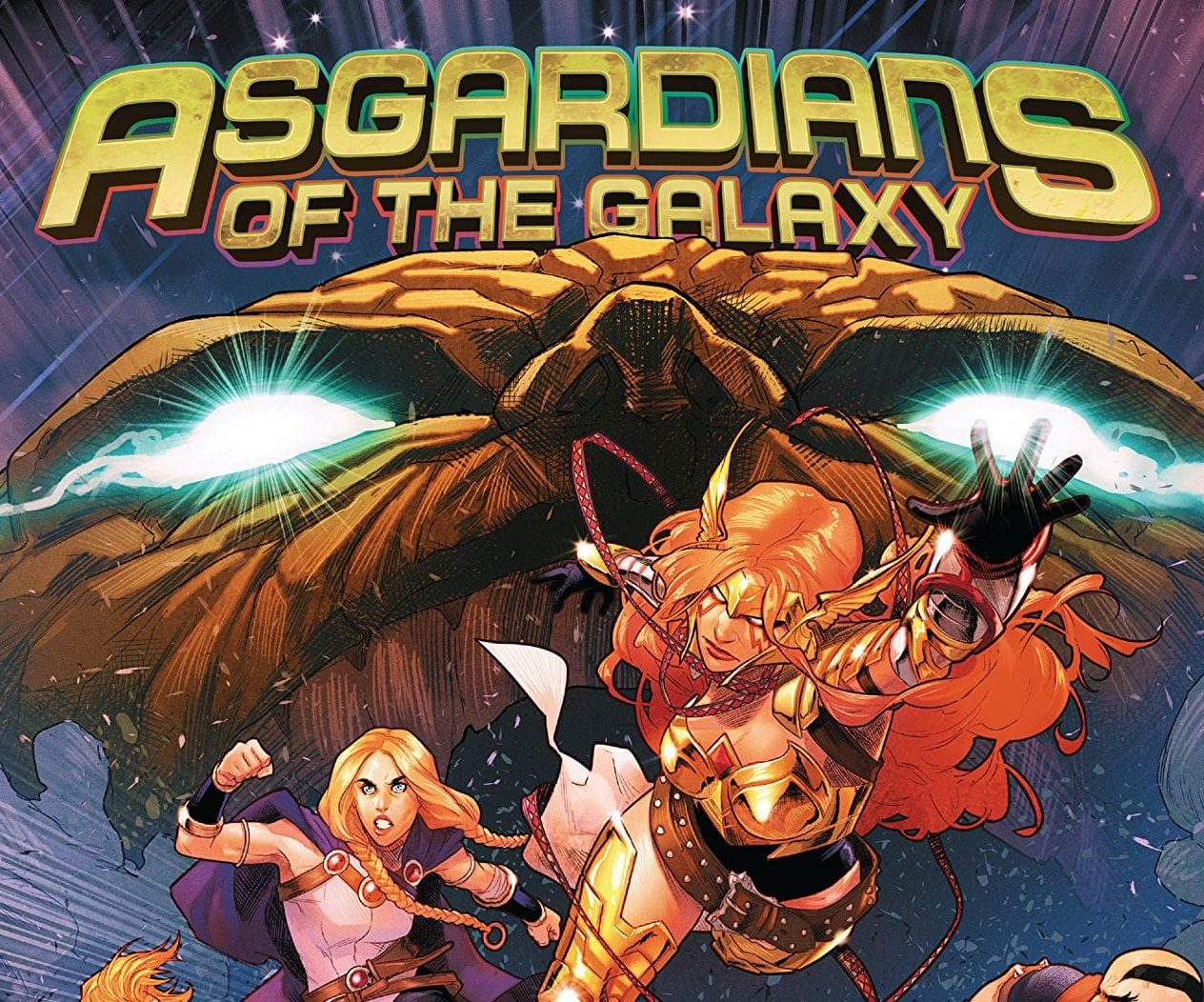 'Asgardians of the Galaxy Vol. 2: War of the Realms' review: could not avoid the tie-in, for better or worse