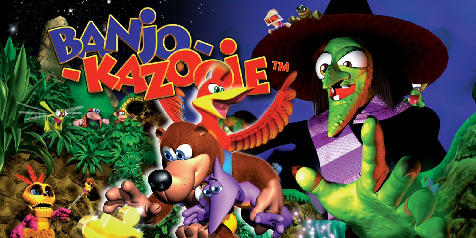 I was never able to beat my favorite game, Banjo-Kazooie, as a kid. That changes now.