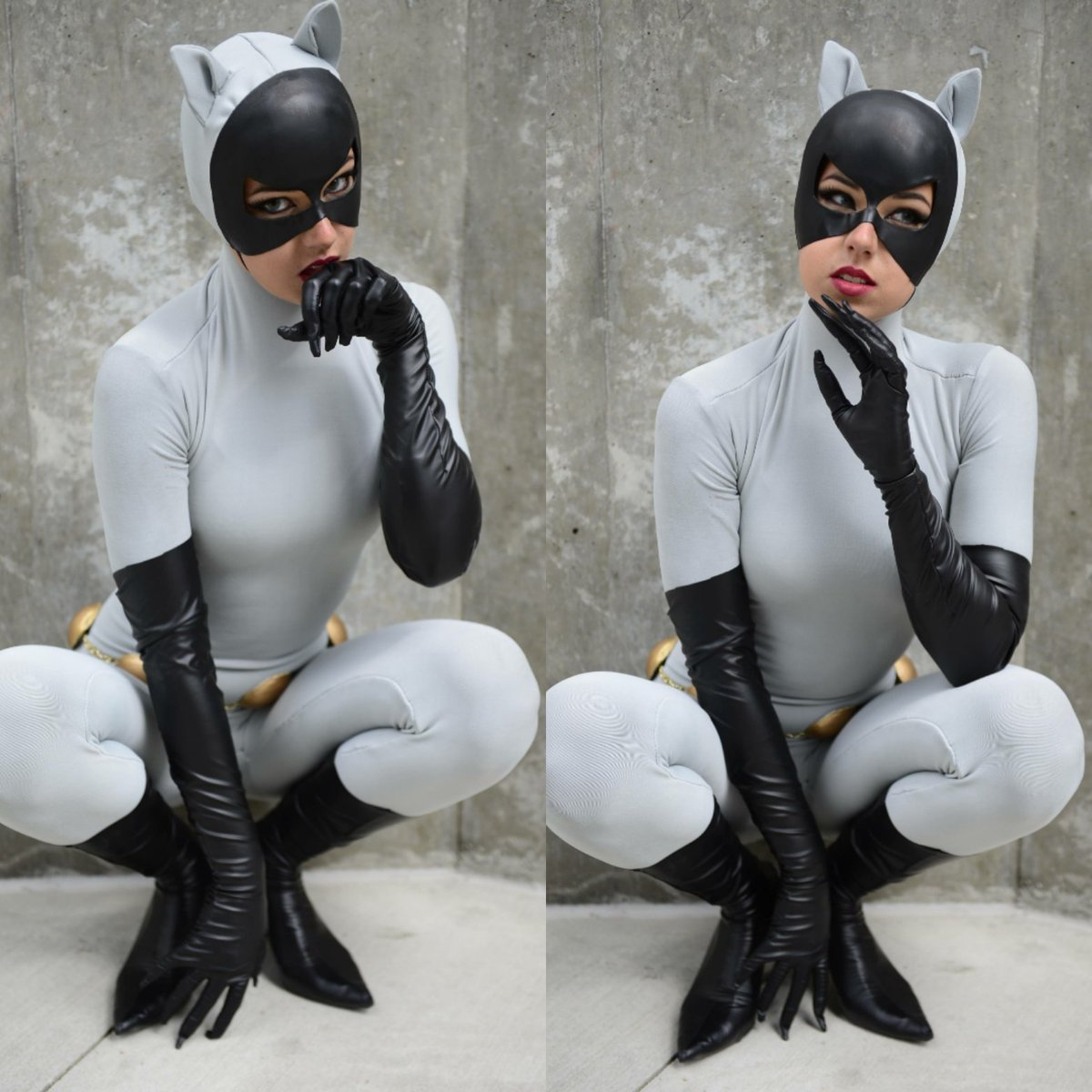 Batman: The Animated Series: Catwoman cosplay by Robin Cyn