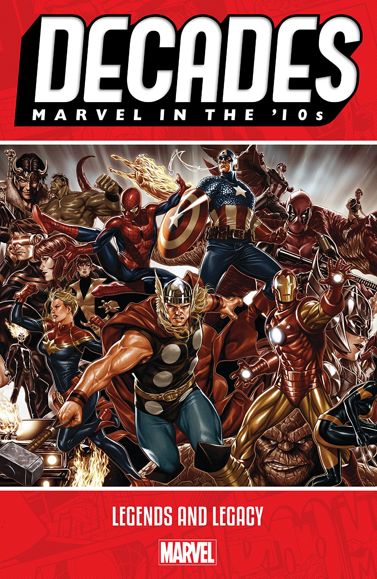 Marvel's celebration of 80 years reaches the present decade!