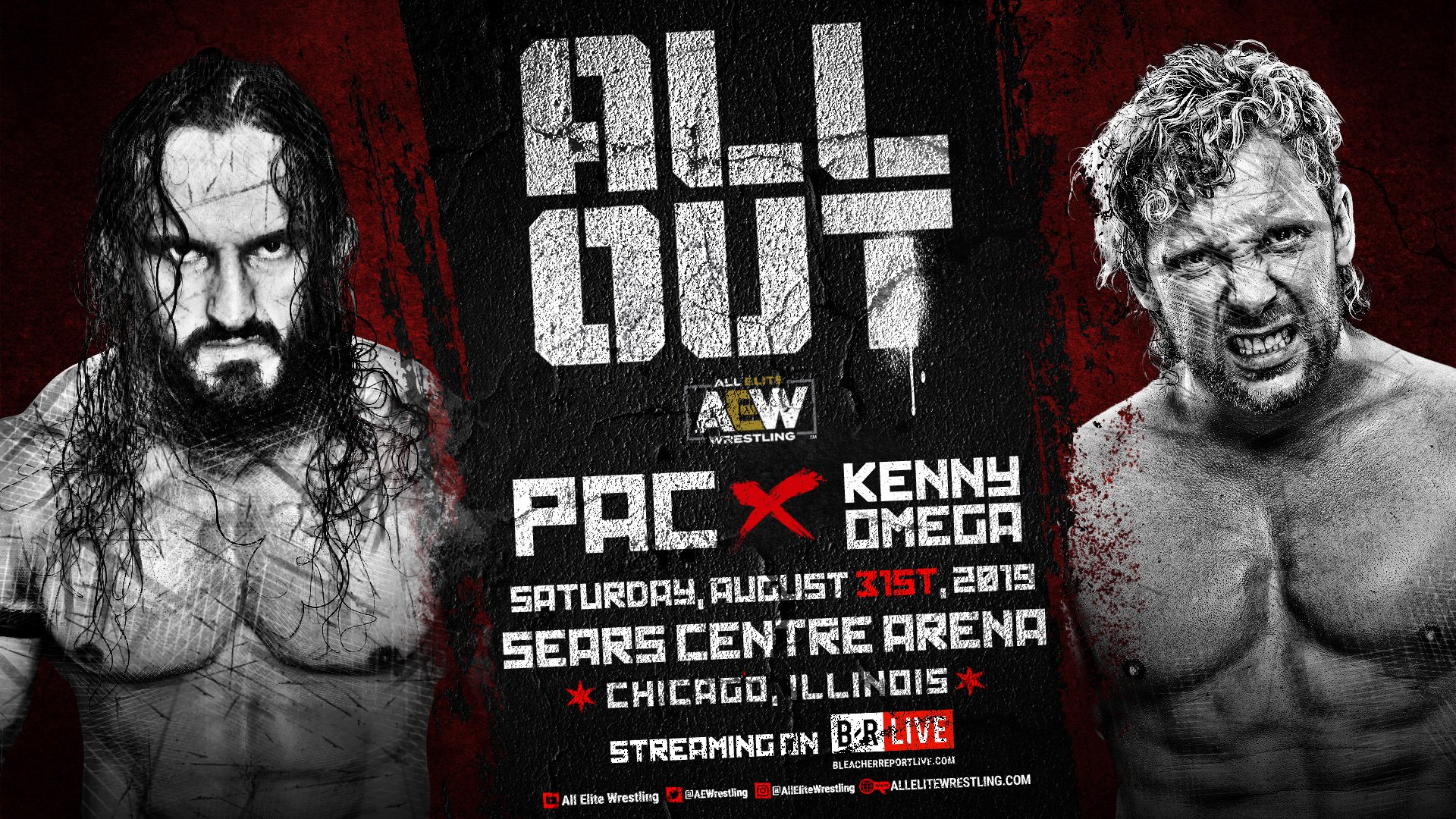 Pac vs. Kenny Omega announced for All Out