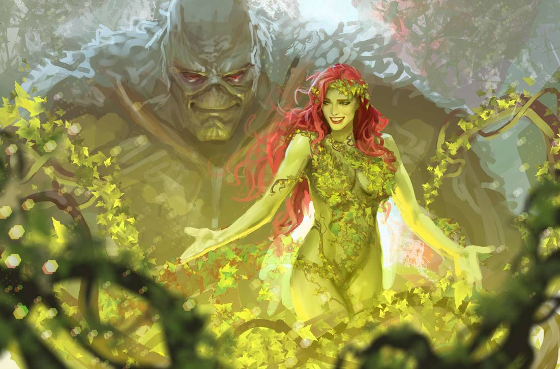 """Harleen's Stjepan Sejic is """"doing a new take"""" on Poison Ivy's origin"""