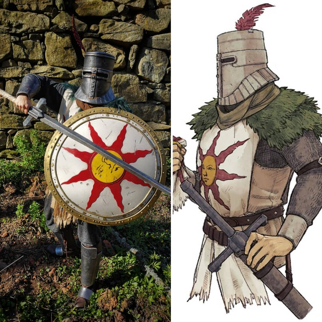 Dark Souls: Solaire of Astora cosplay by Dovahcrafts