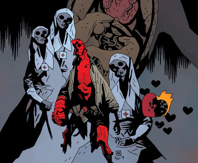 This new one-shot features Hellboy coming to the aid of a girl in Savannah, Georgia.