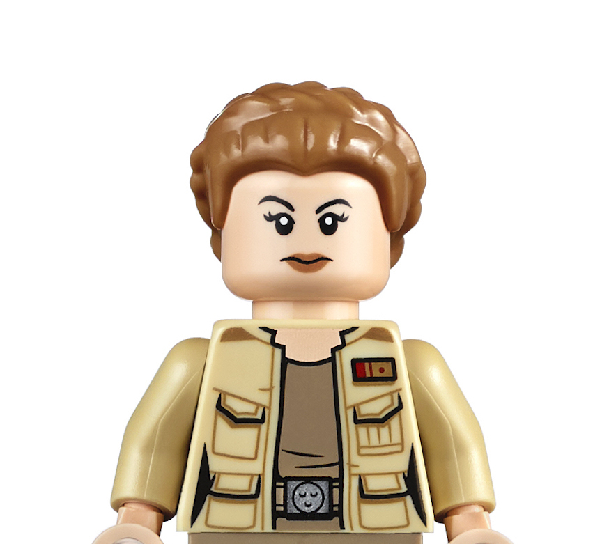 Billie Lourd gets her own LEGO minifigure in 'Rise of Skywalker' Resistance A-Wing Starfighter set