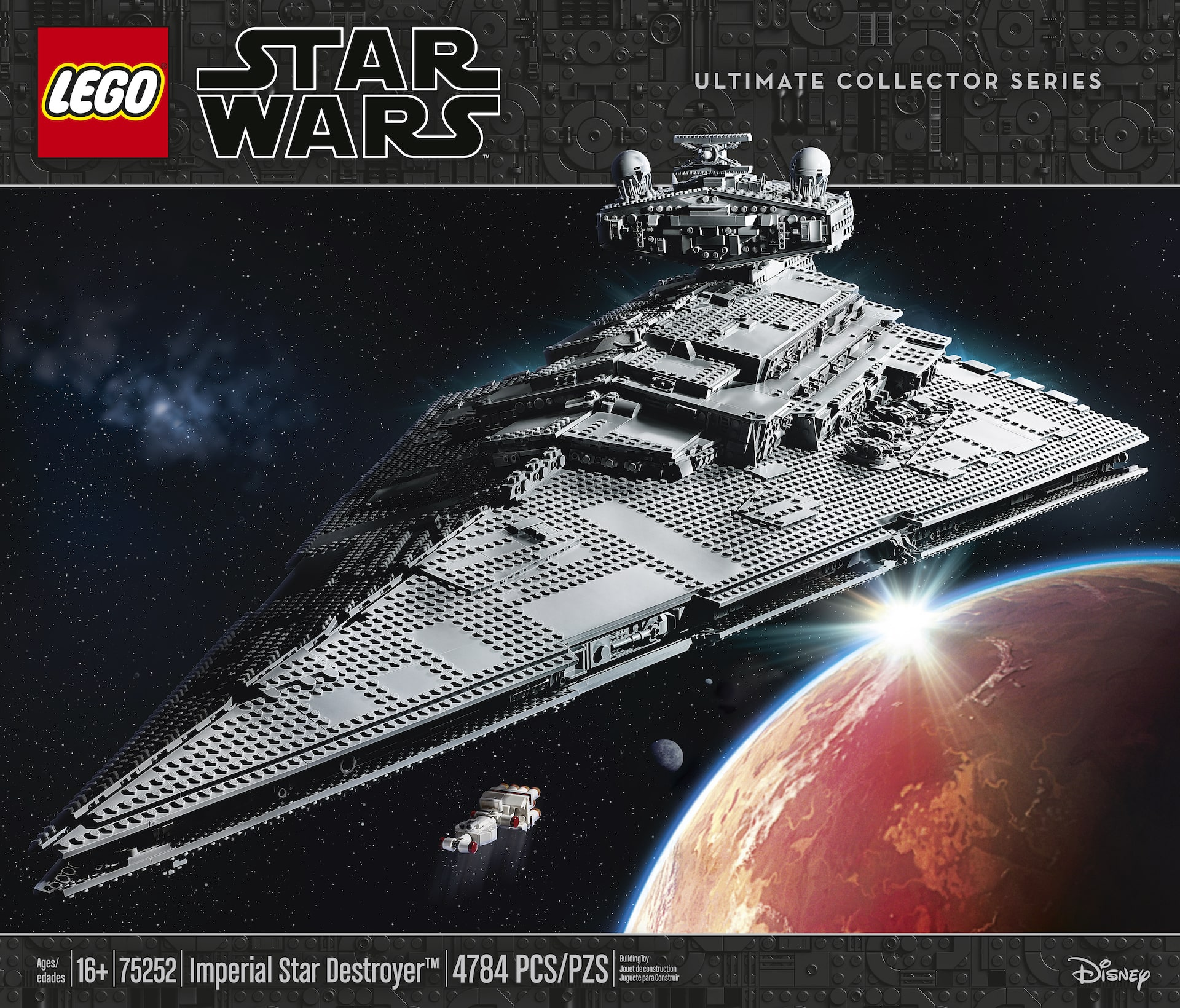First Look: LEGO Star Wars Imperial Star Destroyer with new 4,700 piece Imperial Star Destroyer with Tantive IV starship